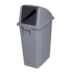 Thùng rác nhựa có kẽ bỏ giấy vụn