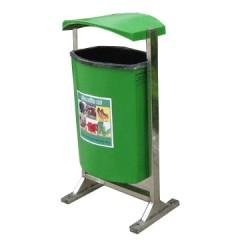 Thùng rác nhựa composite treo đơn 80 lít