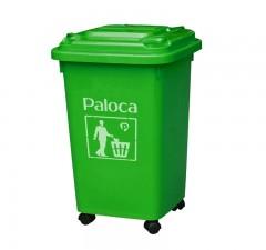 thùng rác nhựa công cộng 50 lít