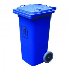 Thùng rác nhựa công nghiệp 120 lít