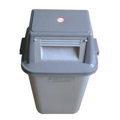 Thùng rác nhựa nắp đẩy 60L