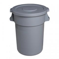 Thùng rác nhựa tròn nắp kín