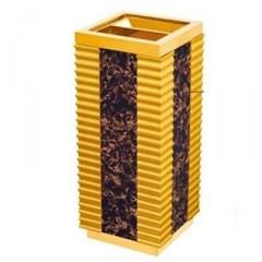 Thùng rác gỗ có gạt tàn thuốc A71