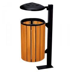 Thùng rác gỗ công nghiệp treo đơn A78H