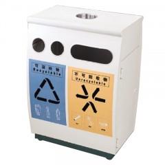 Thùng rác kim loại công cộng phân loại rác