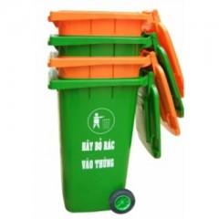 Thùng rác nhựa có bánh xe 240 lít
