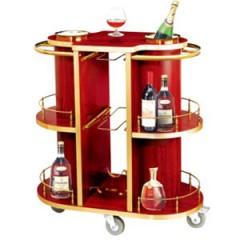 xe đẩy phục vụ rượu nhà hàng