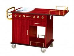 Xe phục vụ bàn có bếp từ di động