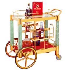 Giá trưng bày rượu cao cấp có bánh xe