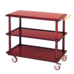 Xe đẩy phục vụ bàn bằng gỗ cao cấp WY-65