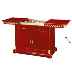 Tủ bếp bằng gỗ cao cấp gia đình