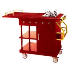 Bàn bếp di động bằng gỗ loại nhỏ WY-93