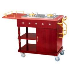 Xe phục vụ bàn có bếp nấu ăn WY-94