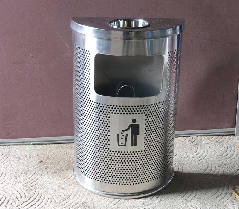 thùng rác gạt tàn nhập khẩu