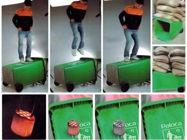 Khả năng chống chịu của thùng rác composite