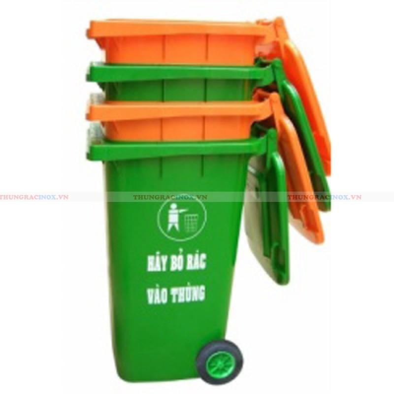 Thùng rác nhựa có bánh xe 240l