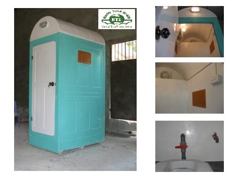 Nhà vệ sinh di động nhựa composite