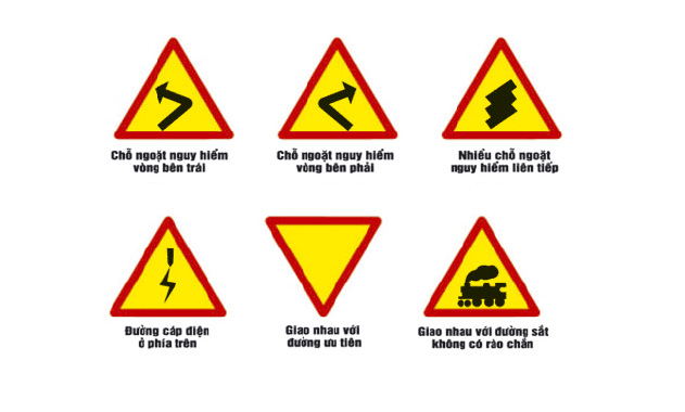 Biển báo giao thông hình tam giác