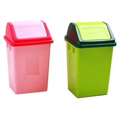 thùng rác nhựa nắp lật văn phòng
