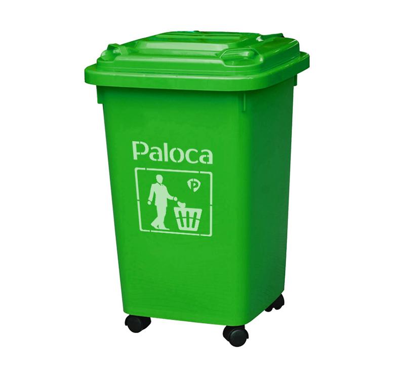 Thùng rác 50 lít nhựa HDPE nắp kín