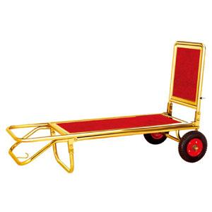 xe đẩy hành lý bằng inox
